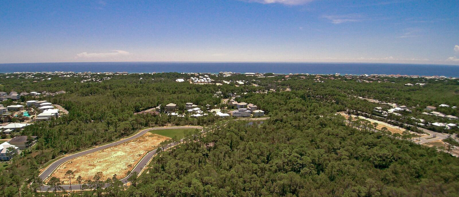 Where to find RidgeWalk in Santa Rosa Beach, FL. Location map and links to these 30A home sites for sale.